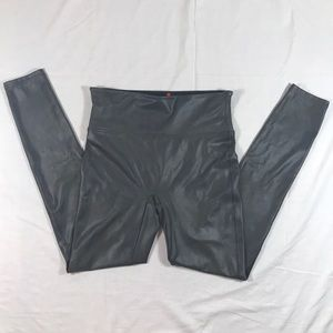 SPANX by Sara Blakey faux leather coated leggings